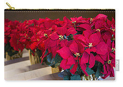 Elegant Poinsettias Carry-all Pouch