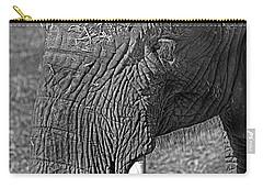Elephant.. Dont Cry Carry-all Pouch by Miroslava Jurcik