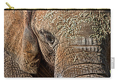 Elephant Never Forgets Carry-all Pouch by Miroslava Jurcik