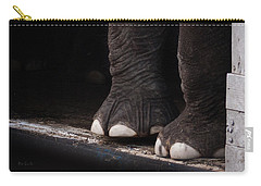 Elephant Toes Carry-all Pouch by Bob Orsillo