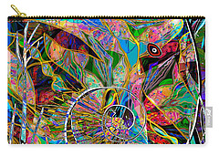 Elephant's Kaleidoscope Carry-all Pouch