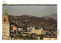 Elevated View Of A City, West Carry-all Pouch by Panoramic Images