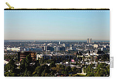 Elevated View Of City, Los Angeles Carry-all Pouch