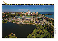Elevated View Of The Museum Of Science Carry-all Pouch