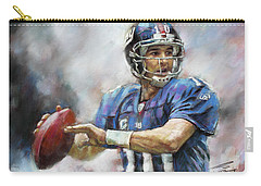 Eli Manning Nfl Ny Giants  Carry-all Pouch