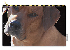 Carry-all Pouch featuring the photograph Eli by Mim White