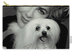Elizabeth Taylor And Friend Carry-all Pouch by Studio Photo