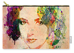 Elizabeth Taylor Carry-all Pouch by Mark Ashkenazi