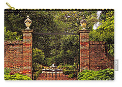 Elizabethan Gardens Carry-all Pouch by Lydia Holly