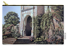 Elizabethan Tower Carry-all Pouch by Rosemary Colyer