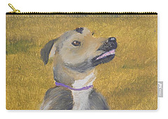 Carry-all Pouch featuring the painting Ella by Pamela  Meredith