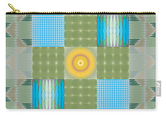 Ellipse Quilt 1 Carry-all Pouch by Kevin McLaughlin