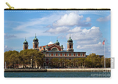 Carry-all Pouch featuring the photograph Ellis Island by Eleanor Abramson
