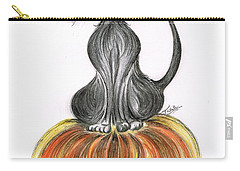 Elma's Pumpkin Carry-all Pouch by Teresa White