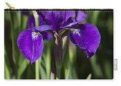 Eloquent Iris Carry-all Pouch