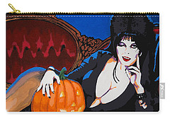 Elvira Dark Mistress Carry-all Pouch