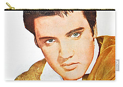Elvis Colored Portrait Carry-all Pouch