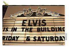 Elvis Is In Carry-all Pouch by David Lee Thompson