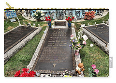 Elvis Presley Laid To Rest Carry-all Pouch