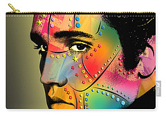 Elvis Presley Carry-all Pouch by Mark Ashkenazi