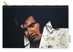 Elvis Presley Painting Carry-all Pouch by Paul Meijering