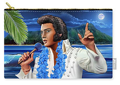 Elvis The Legend Carry-all Pouch by Glenn Holbrook
