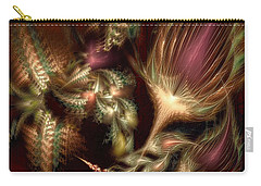 Carry-all Pouch featuring the digital art Elysian by Casey Kotas