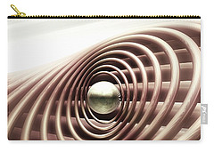 Carry-all Pouch featuring the digital art Emanate by John Alexander