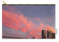 Carry-all Pouch featuring the photograph Embarcadero Sunset by Kate Brown