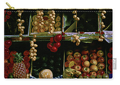 Glowing Paris Fruit Display Carry-all Pouch