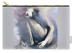 Embryonic II. Textured Square Carry-all Pouch
