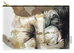 Embryonic IIi With Texture Carry-all Pouch by Paul Davenport