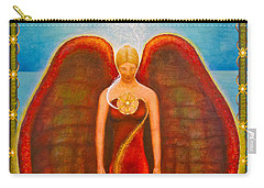Emeliah Angel Of Inner Journeys Carry-all Pouch