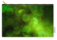 Emerald Bokeh Carry-all Pouch