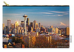 Emerald City Sunset Carry-all Pouch