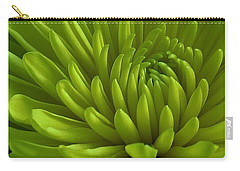 Emerald Dahlia Carry-all Pouch
