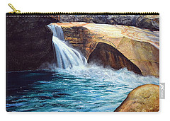 Emerald Pool Carry-all Pouch by Frank Wilson