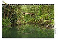 Emerald Reflections Carry-all Pouch by Patricia Davidson