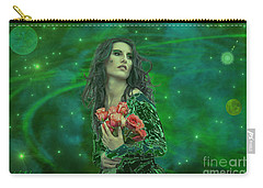Emerald Universe Carry-all Pouch by Michael Rucker
