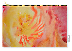 Carry-all Pouch featuring the painting Emergent by Beverley Harper Tinsley
