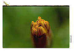 Emerging Bud - Yellow Flower Carry-all Pouch by Ramabhadran Thirupattur