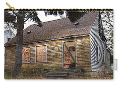 Eminem's Childhood Home Taken On November 11 2013 Carry-all Pouch