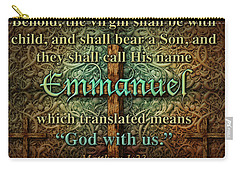 Emmanuel God With Us Carry-all Pouch