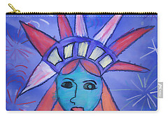 Emma's Lady Liberty Carry-all Pouch by Alice Gipson