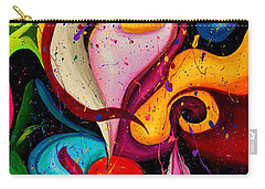 Modern Colorful Abstract  Carry-all Pouch