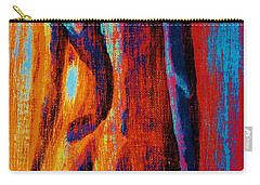 Carry-all Pouch featuring the painting Emotive by Michael Cross