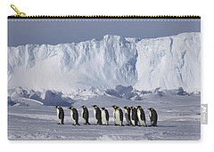 Emperor Penguins Walking Antarctica Carry-all Pouch