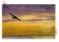Empty Ocean Ahead - Pby Catalina Flying Boat From Wwii Carry-all Pouch