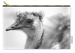 Emu - Black And White Carry-all Pouch by Carol Groenen