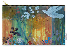 Carry-all Pouch featuring the painting Encantador by Robin Maria Pedrero